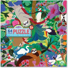 Sloths at Play 64pc Puzzzle