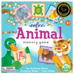 Preschool Animal Memory Game