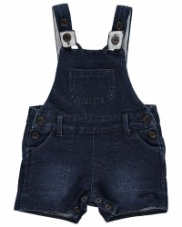 Denim Shortie Overalls 2-3y