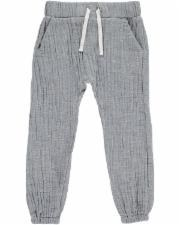 Blue Gauze Jog Trousers 7-8y
