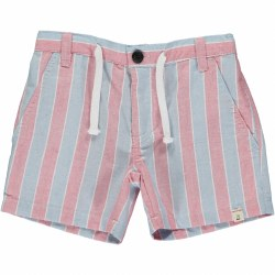 Blue/Red Stripe Shorts 6-7y