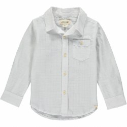 White Button Up 2-3y