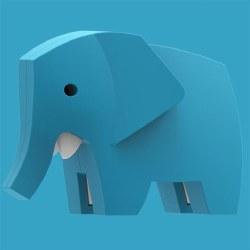 Halftoy Elephant