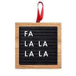 Letterboard Ornament