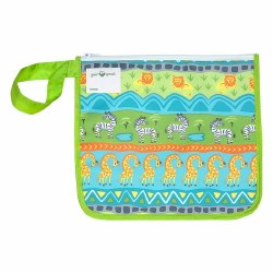 Insulated Snack Bag Green Safari