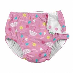 Swim Diaper Pink Beach 24m