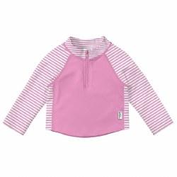 Zip Rashguard Pink 18m