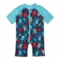 Sunsuit Navy Octopus 24m
