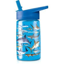 Tritan Drinking Bottle Shark