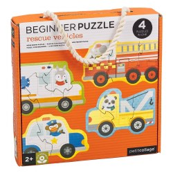 Rescue Vehicles Beginner Puzzl
