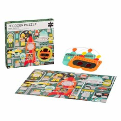 Robot Factory 100pc Puzzle