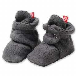 Cozie Fleece Bootie Grey 3m