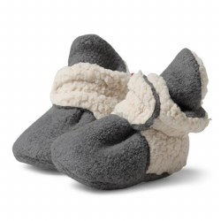 Furry Lined Bootie Grey 6m