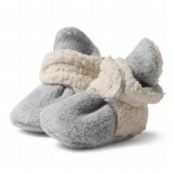 Cozie Furry Bootie Heather Grey 3m