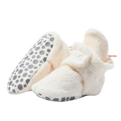 Cozie Gripper Booties Cream 18m