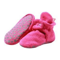 Gripper Booties Fuchsia 24m
