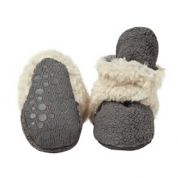 Cozie Furry Gripper Grey 12m