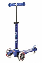 Mini Deluxe Scooter Blue