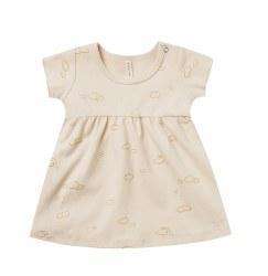 Baby Dress Natural 0-3m