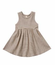 Ribbed Tank Dress Charcoal 12-18m