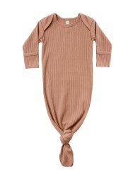 Knotted Gown Terracotta
