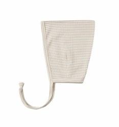 Pixie Bonnet Ash Stripe 0-3m