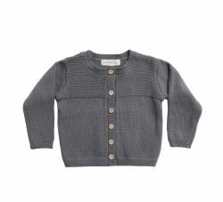Knit Cardigan Dark Sea 18-24m