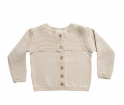 Knit Cardigan Natural 18-24m