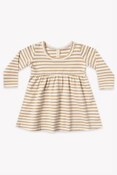 Baby Dress Honey Stripe 6-12m