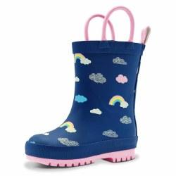 Rain Boots Rainbow 6.5