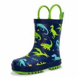 Rain Boots Dinoland 6.5