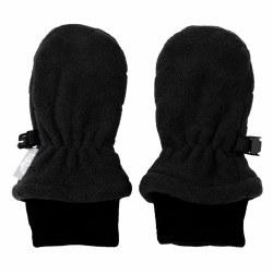 Fleece Mittens Black Small