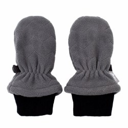 Fleece Mittens Dark Grey Medium