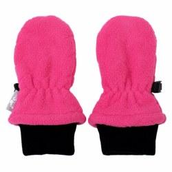 Fleece Mittens Hot Pink Small