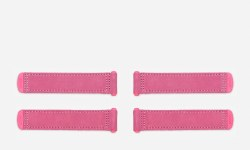 Tab 4pk Suede Pink Medium