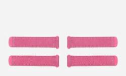 Tab 4pk Suede Pink Large