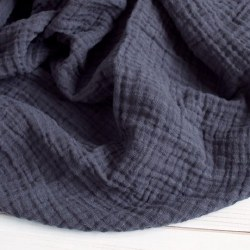 Muslin Blanket Charcoal