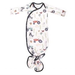 Newborn Knotted Gown Jo