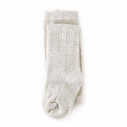 Cable Knit Tights Heth Iv 0-6m