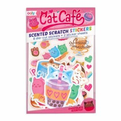 Scented Stickers Cat Cafe