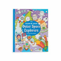Color-in' Book Outer Space Explorer
