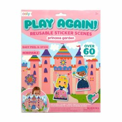 Play Again Sticker Scenes Princess Garden