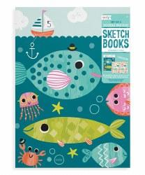 Doodle Pad Sketchbook Fish