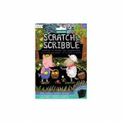 Mini Scratch and Scribble Farm Animals