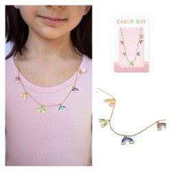 Amy Rainbow Necklace