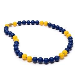 Spirit Necklace Colbalt/Yellow