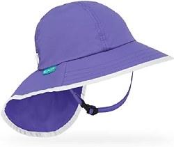 Kids' Play Hat Large Purple Iris