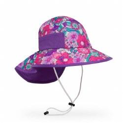 Kids' Play Hat Large Flower Garden