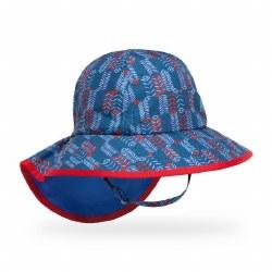 Kids' Play Hat Large Blue Arrow