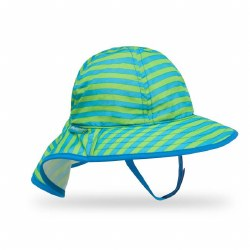 Infant Sunsprout Hat Blue/Green